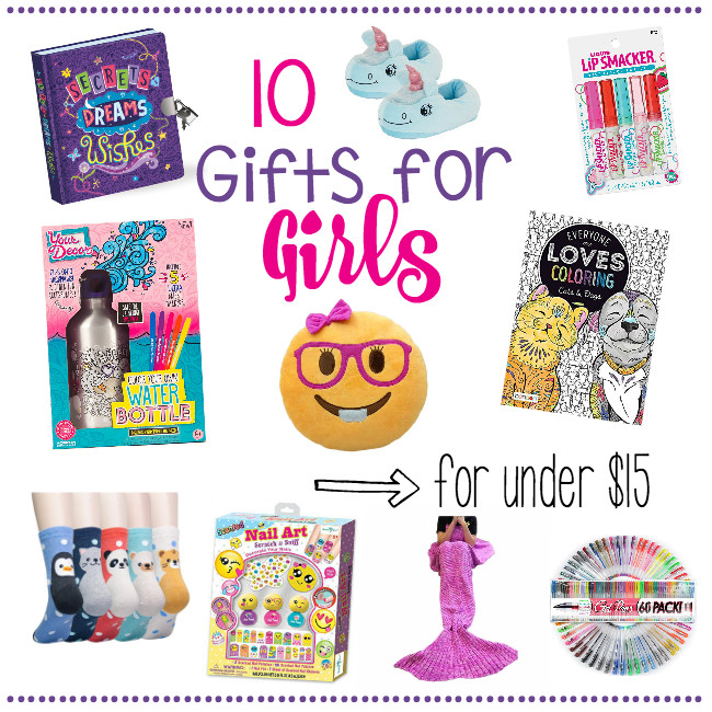 Gift Ideas For Girls 10 Years Old  10 Gifts for Girls for Under $15 – Fun Squared