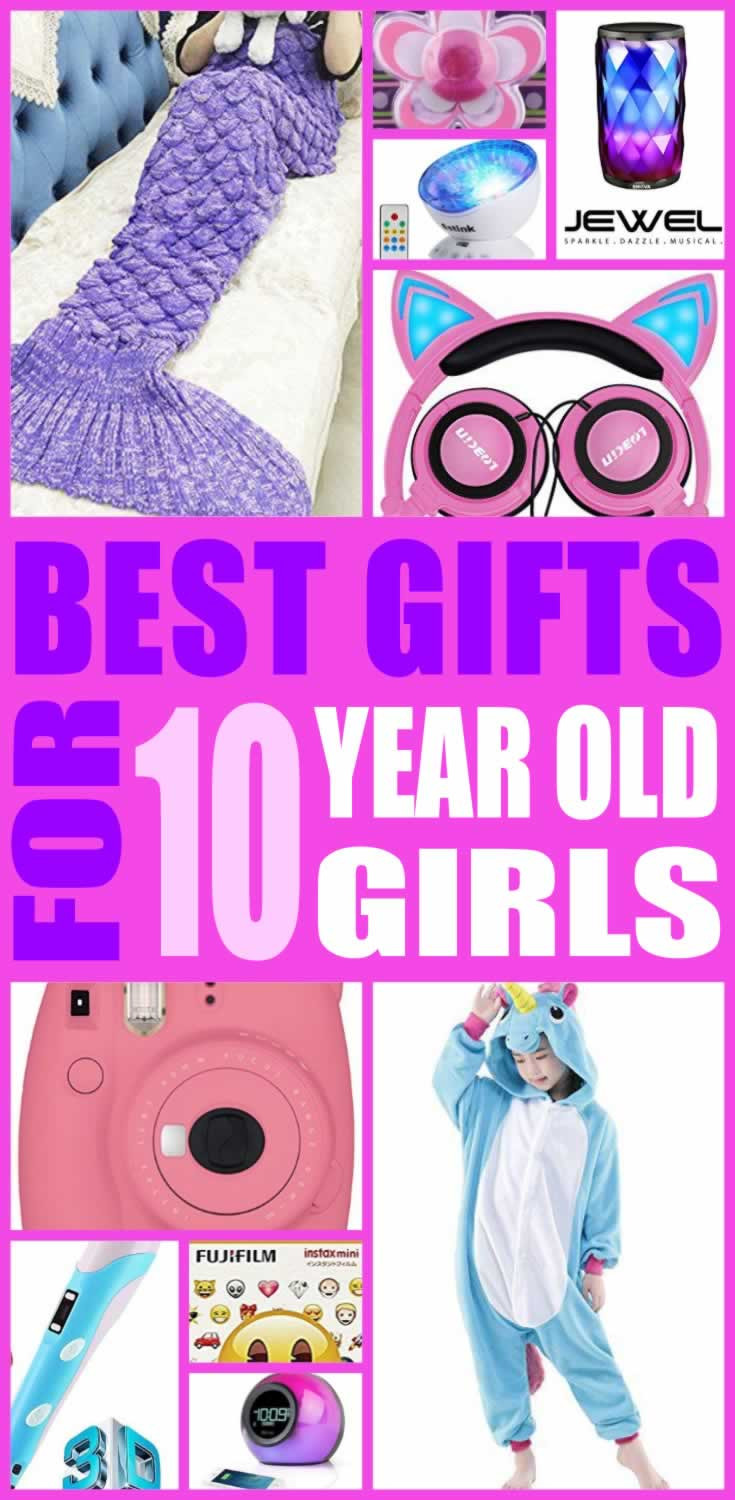 Gift Ideas For Girls 10 Years Old  Best Gifts For 10 Year Old Girls