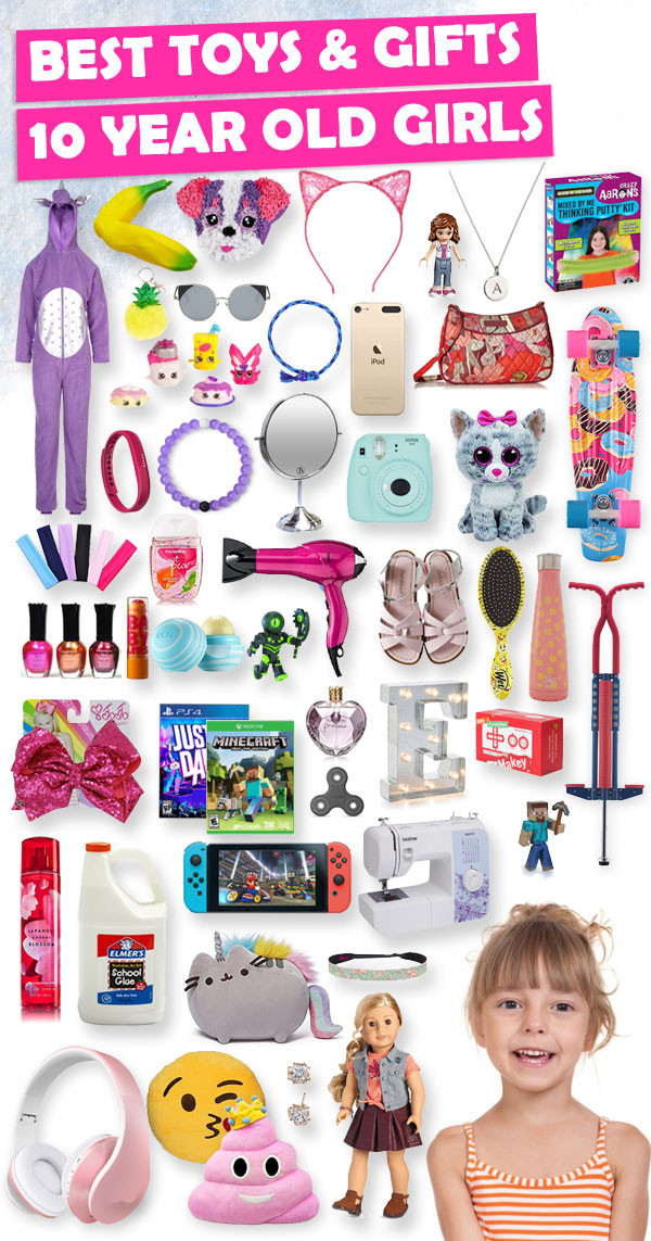 Gift Ideas For Girls 10 Years Old  Best Gifts For 10 Year Old Girls 2018