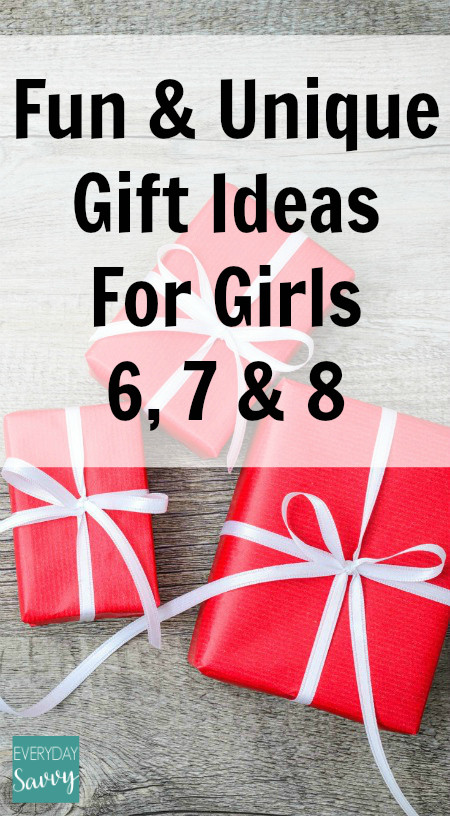 Gift Ideas For Girls Age 7  Fun & Unique Gift Ideas Girls Ages 6 7 8