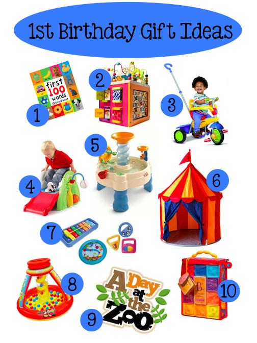 Gift Ideas For Girls First Birthday  Baby's 1st Birthday Gift Ideas