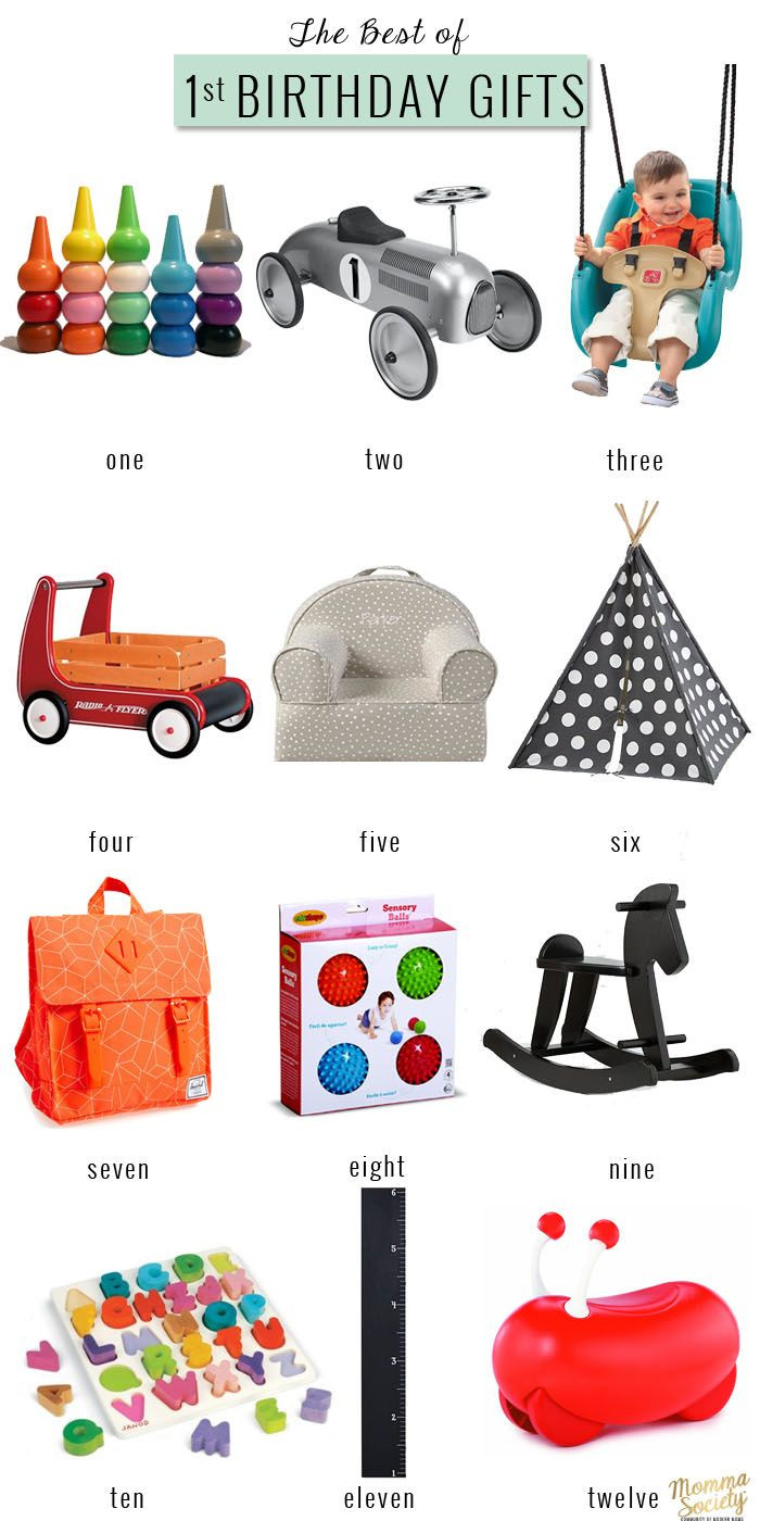 Gift Ideas For Girls First Birthday  The Best First Birthday Gifts For The Modern Baby