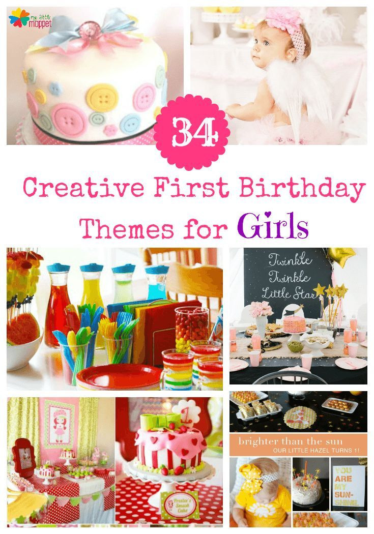 Gift Ideas For Girls First Birthday  34 Creative Girl First Birthday Party Themes & Ideas