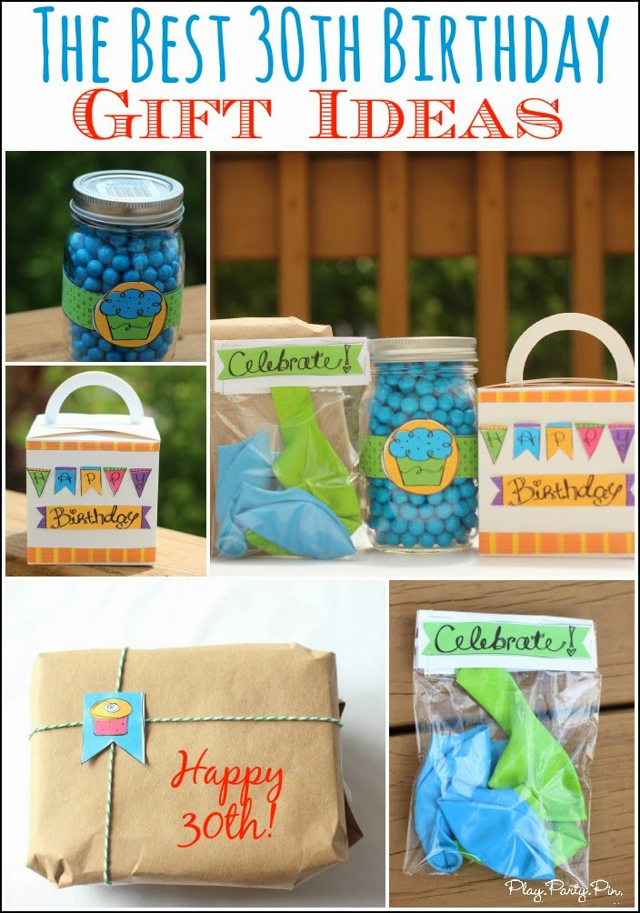 Gift Ideas For Mom'S Birthday  30 Creative 30th Birthday Gift Ideas for Him that He Will