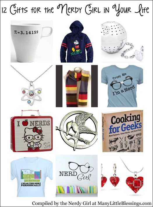 Gift Ideas For Nerdy Girlfriend  12 Gifts for the Nerdy Girl in Your Life