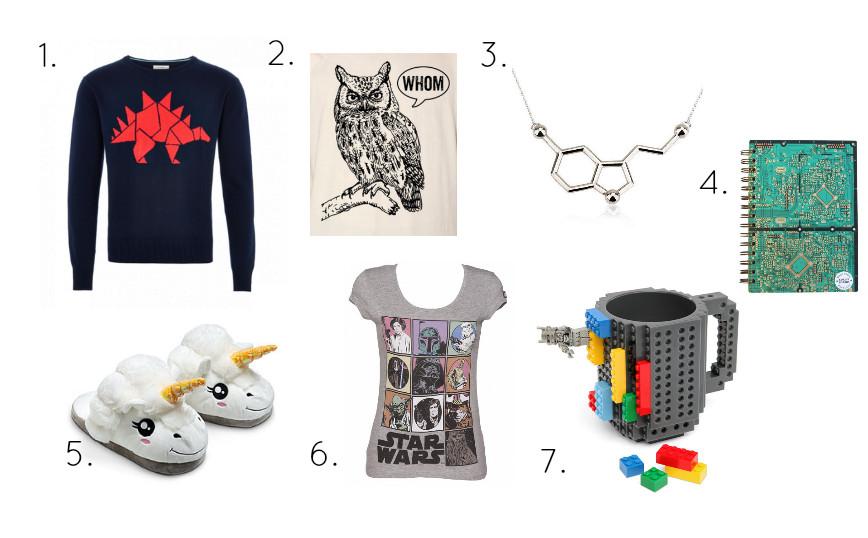 Gift Ideas For Nerdy Girlfriend  Geek Girl s Christmas Gift Guide