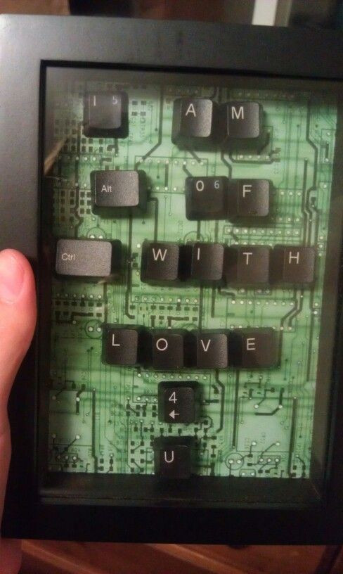 Gift Ideas For Nerdy Girlfriend  Birthday present for boyfriend present keyboard