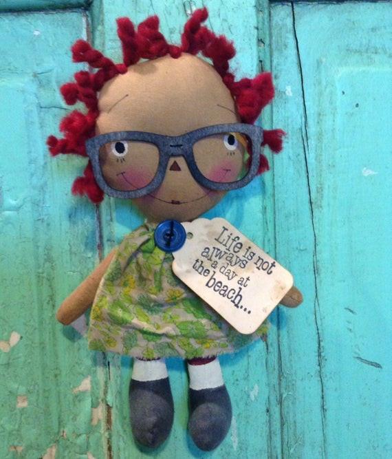 Gift Ideas For Nerdy Girlfriend  Nerdy Girl Gift Birthday Gift Raggedy Ann by