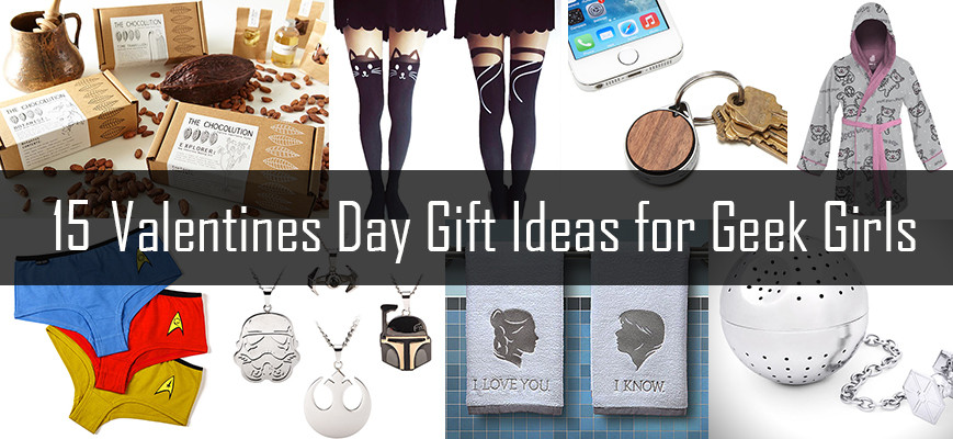 Gift Ideas For Nerdy Girlfriend  15 Valentines Day Gift Ideas for Geek Girls – Domestic