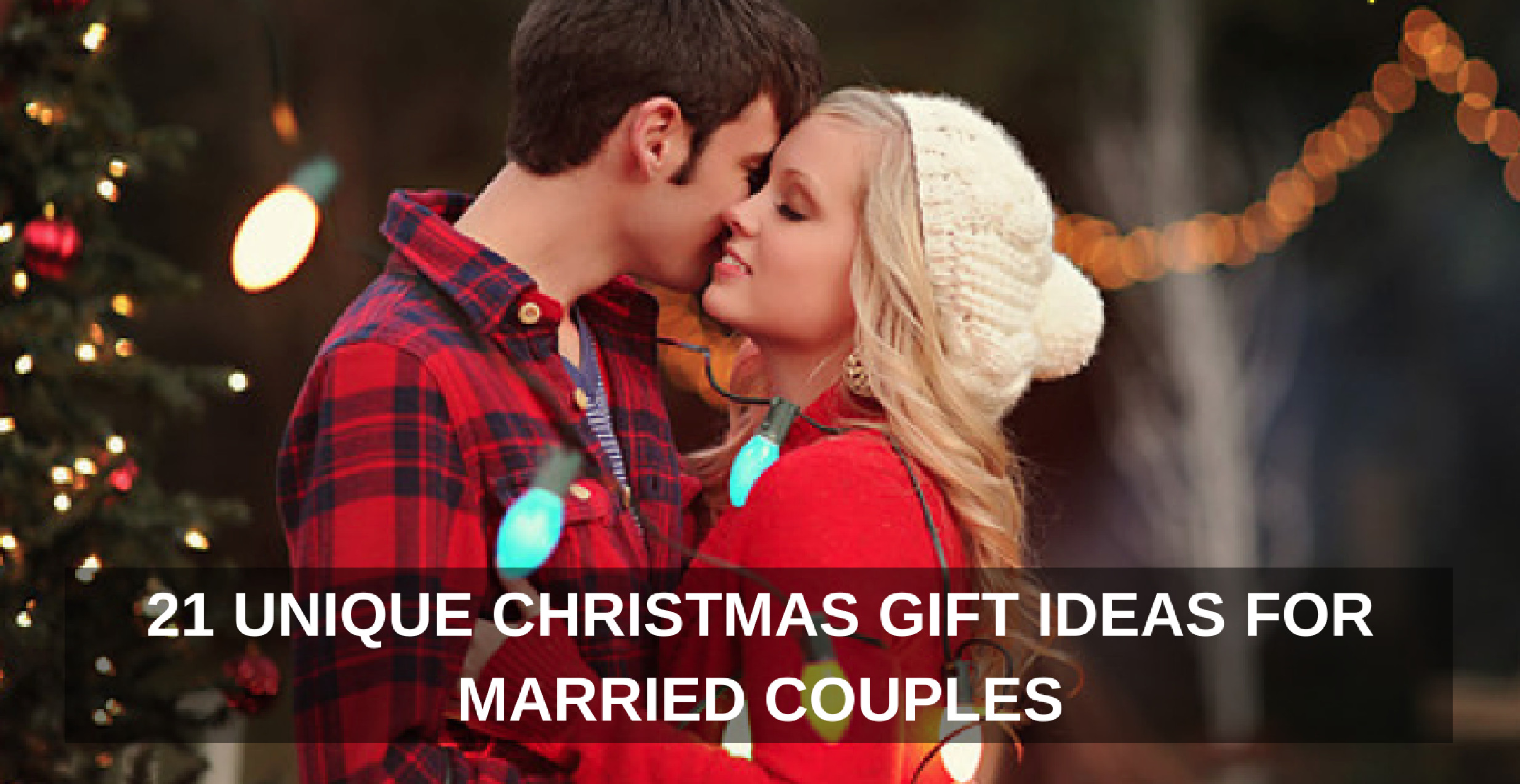 Gift Ideas For Older Couples  21 Unique Christmas Gift Ideas for Married Couples