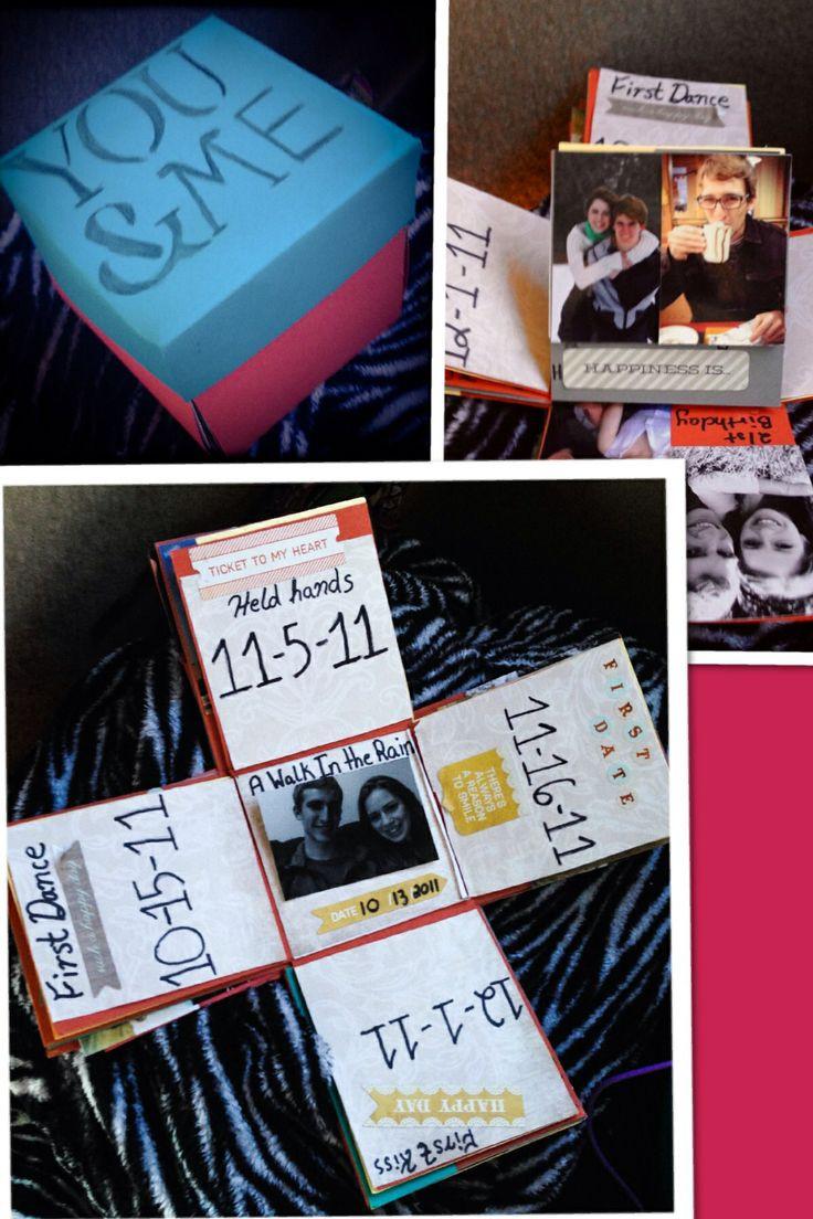 Gift Ideas For One Year Anniversary For Boyfriend  150 best DIY boyfriend images on Pinterest