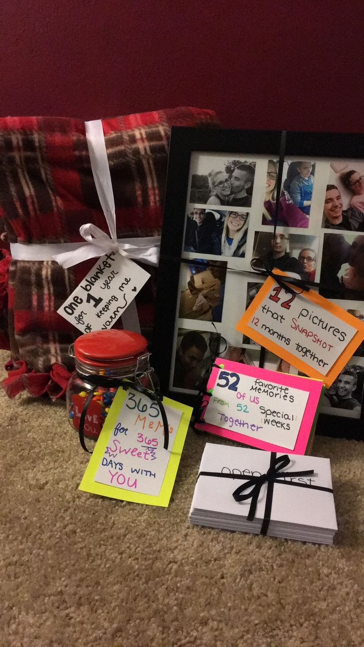 Gift Ideas For One Year Anniversary For Boyfriend  25 best ideas about e Year Anniversary on Pinterest