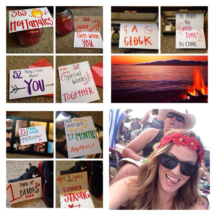 Gift Ideas For One Year Anniversary For Boyfriend  25 unique e year anniversary ts ideas on Pinterest