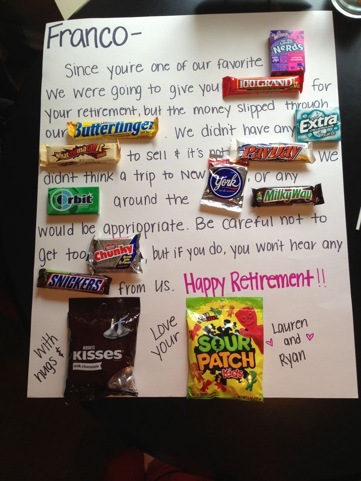 Gift Ideas For Retirement Party  30 best images about Retirement Ideas on Pinterest