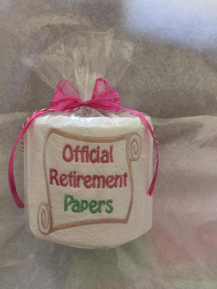 Gift Ideas For Retirement Party  Unique Retirement Gift fice party Decor Gag Gift for