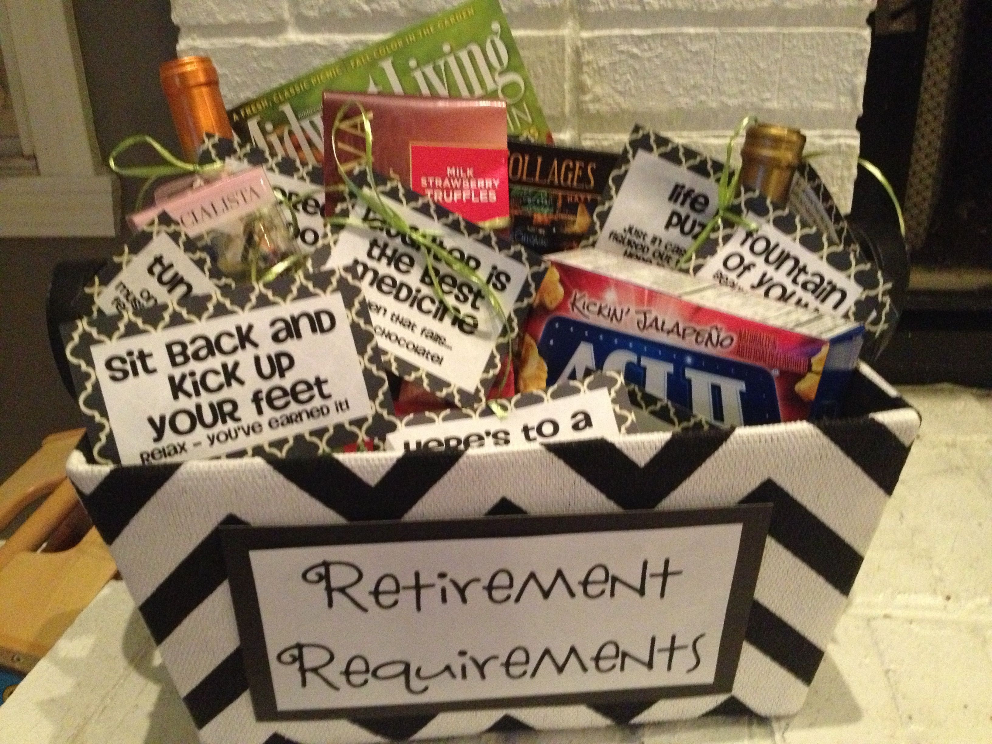Gift Ideas For Retirement Party  Pin by Concept Events Planning on Gift Ideas