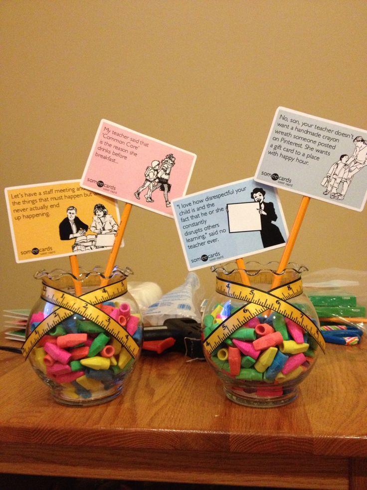 Gift Ideas For Retirement Party  Centerpieces for Teacher Retirement Party