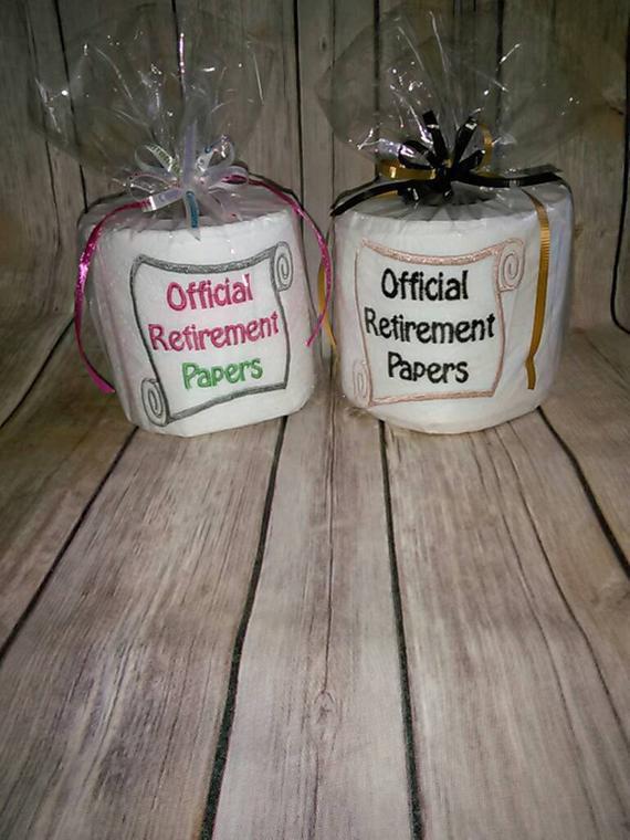 Gift Ideas For Retirement Party  Unique retirement t Retirement Papers Retirement party