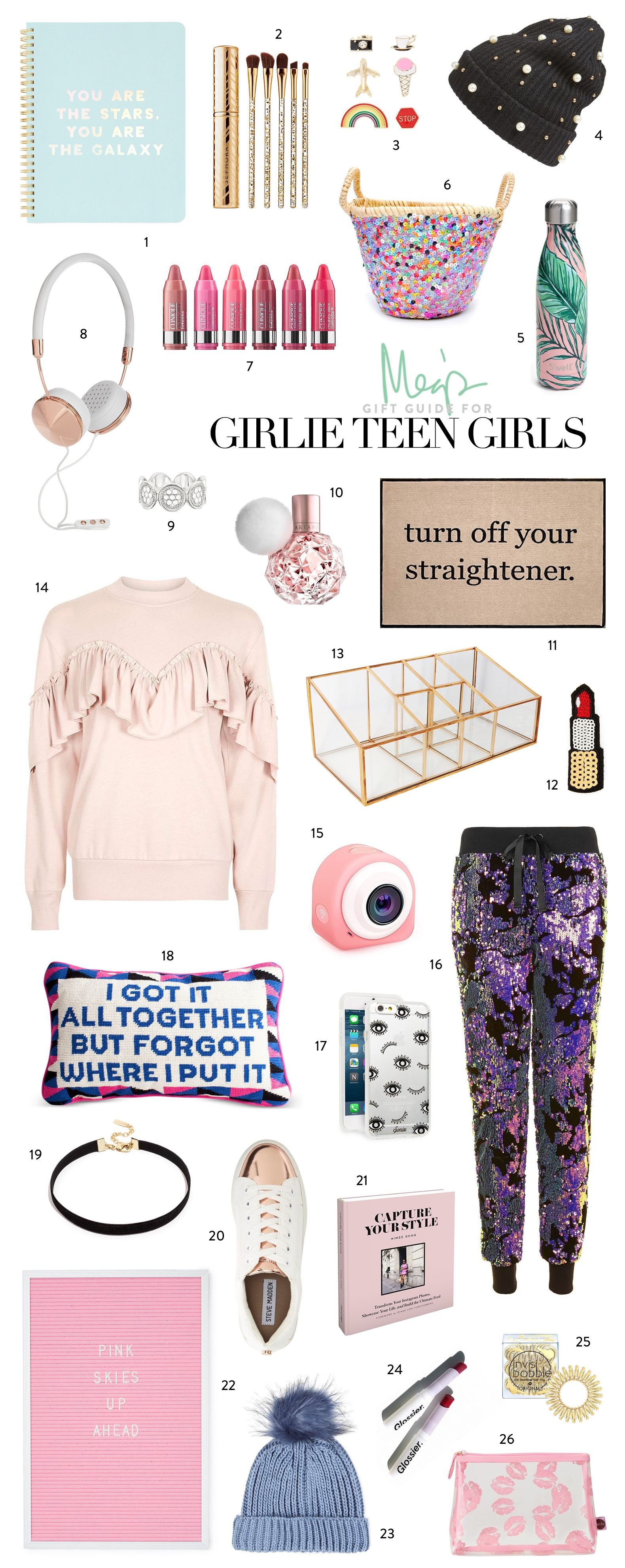 Gift Ideas For Teenage Girlfriend  Holiday Gift Guide Girlie Teen Girls