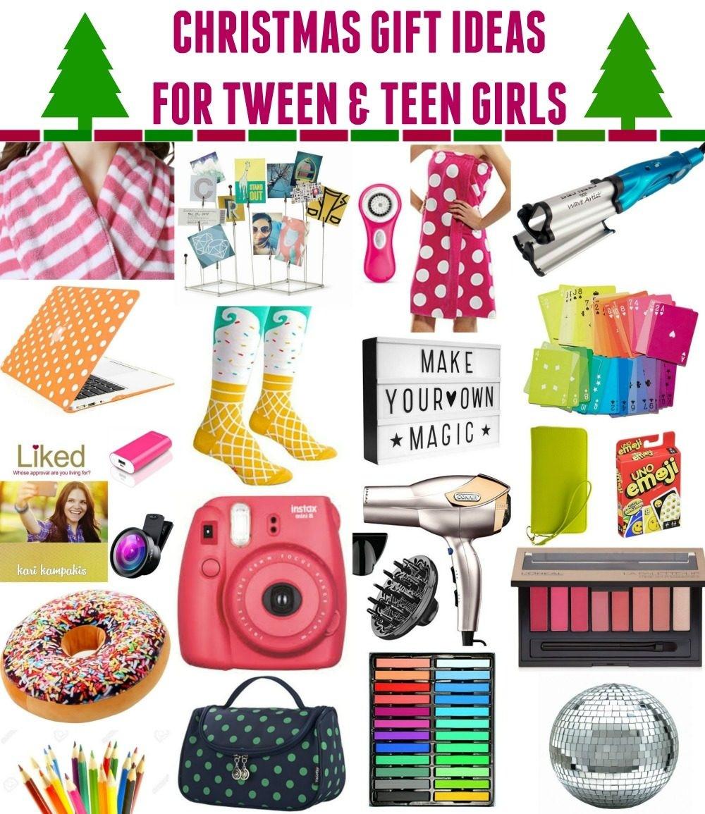 Gift Ideas For Teenage Girlfriend  Good Christmas Gifts For Girl Tweens