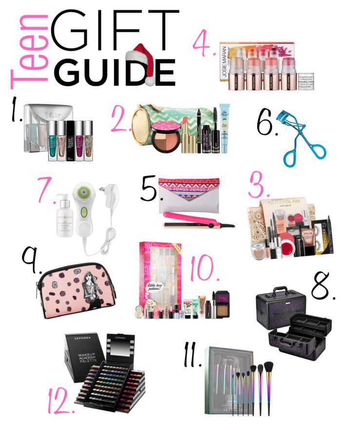 Gift Ideas For Teenage Girlfriend  Teen Holiday Gift Guide featuring products from Sephora