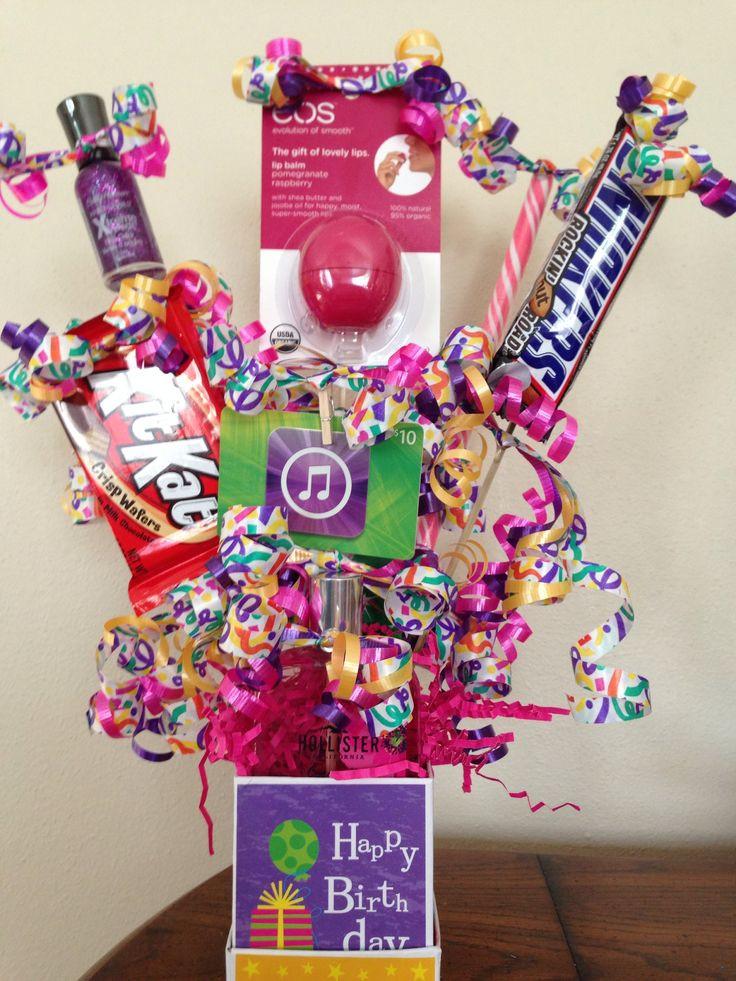 Gift Ideas For Teenage Girlfriend  Teen birthday t basket t basket ideas
