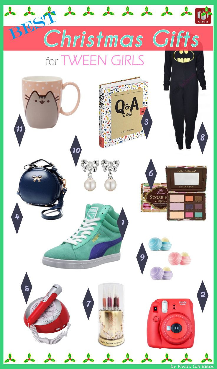 Gift Ideas For Tween Girls  Cool Holiday Gift Guide for Tweens