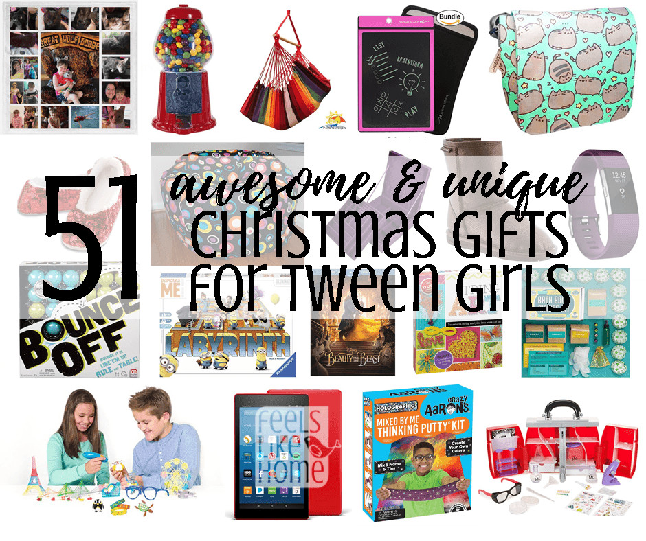 Gift Ideas For Tween Girls  58 Awesome & Unique Christmas Gift Ideas for Tween Girls
