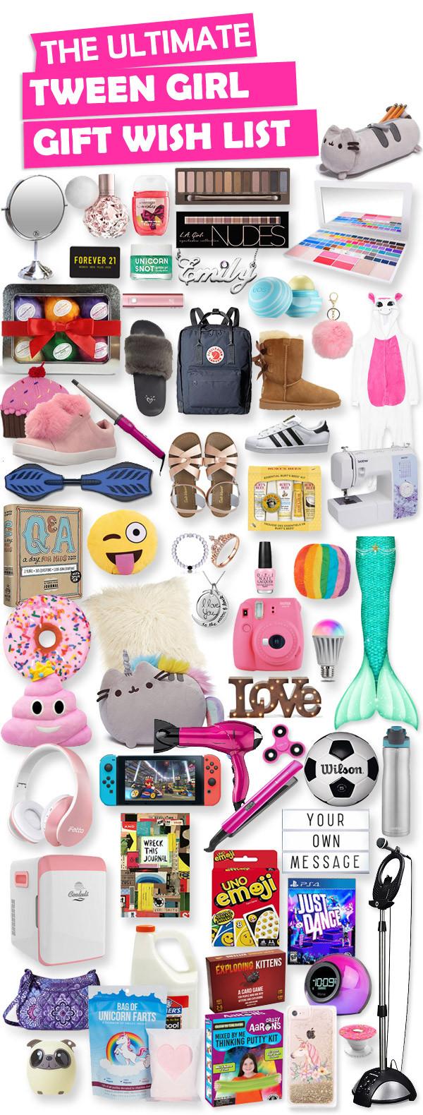 Gift Ideas For Tween Girls  Gifts For Tween Girls