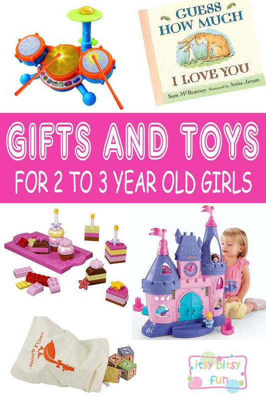 Gift Ideas For Two Year Old Baby Girl  Best Gifts for 2 Year Old Girls in 2017