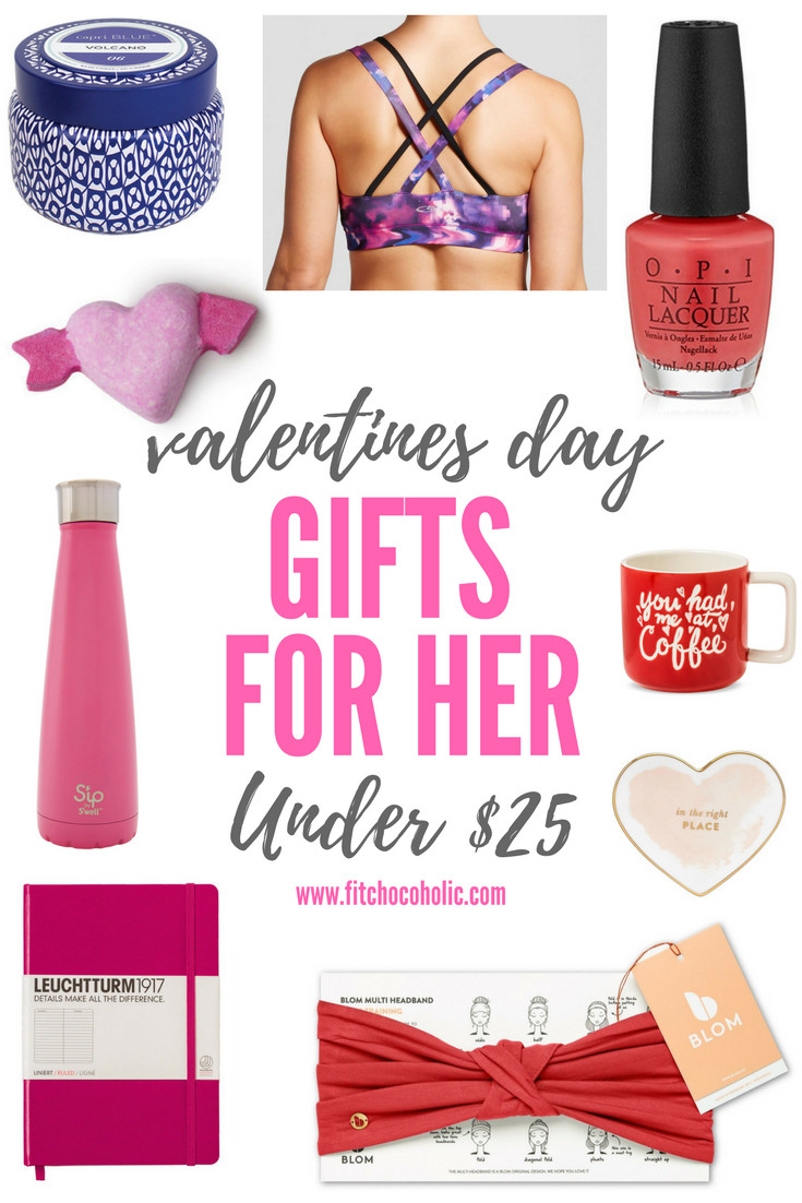 Gift Ideas For Valentines Day For Her  Valentine s Day Gift Ideas For Her Under $25