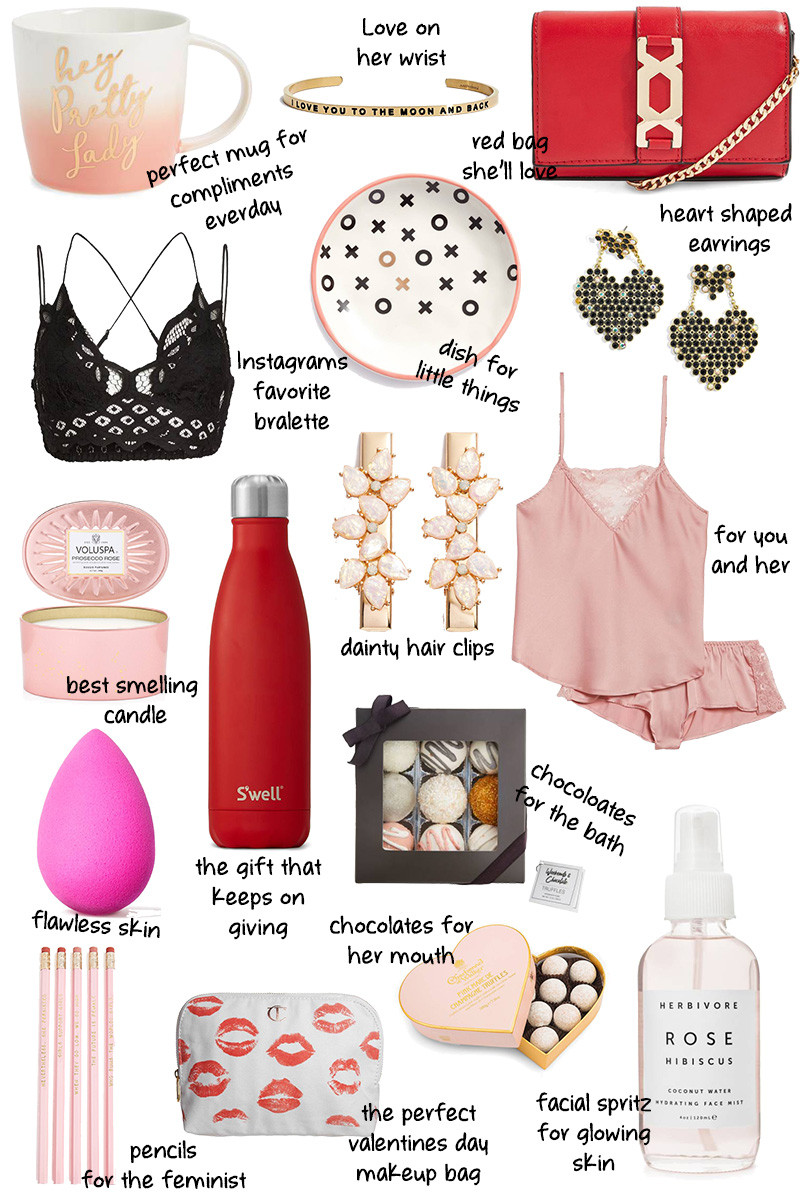 Gift Ideas For Valentines Day For Her  Valentines Day Gift Ideas for Her Under $55 Citizens of