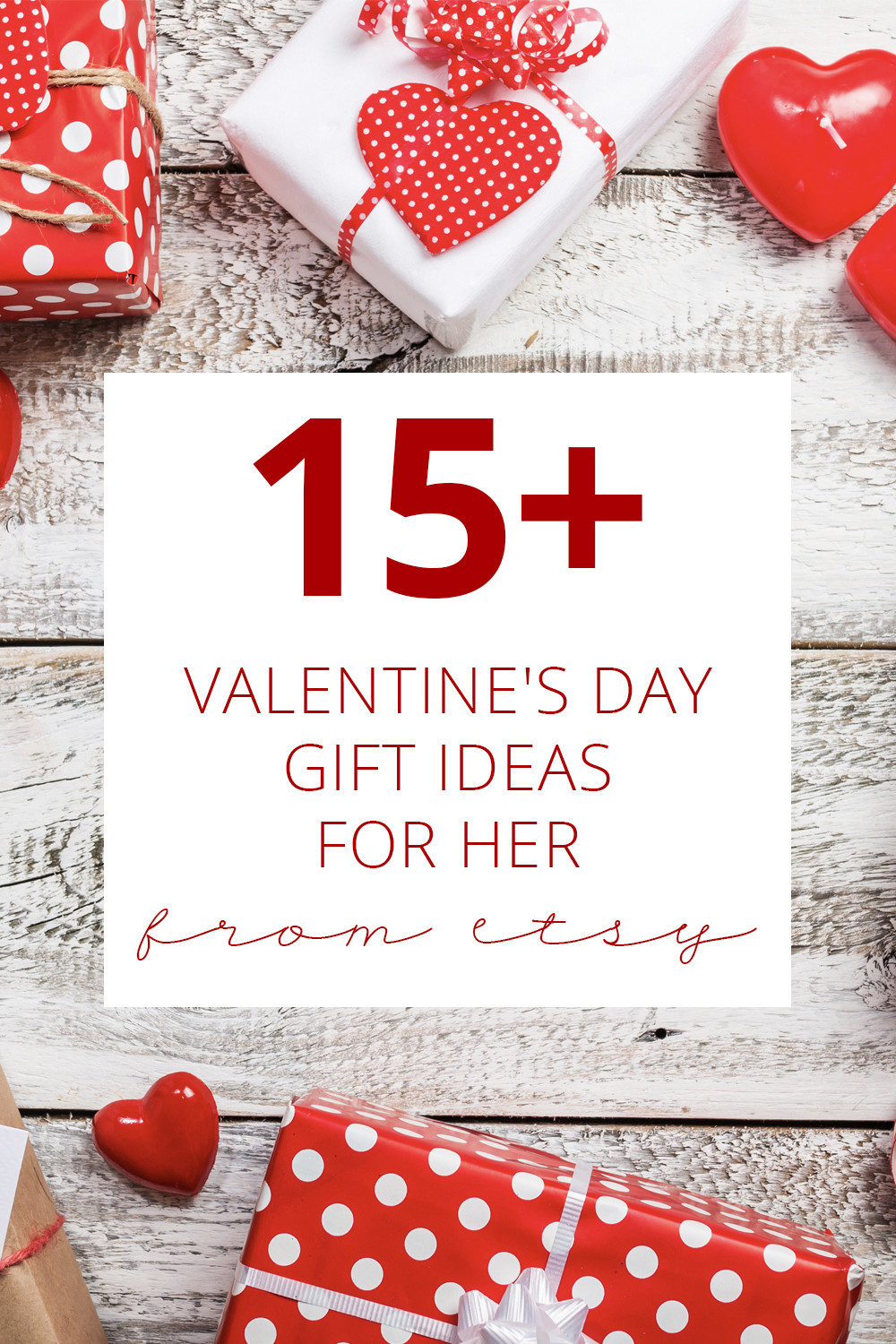Gift Ideas For Valentines Day For Her  15 Valentine s Day Gift Ideas for Her From Etsy