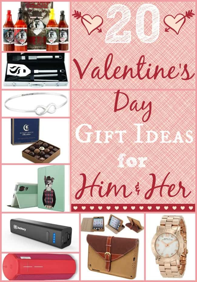 Gift Ideas For Valentines Day For Her  20 Valentines Day Gift Ideas for Him and Her
