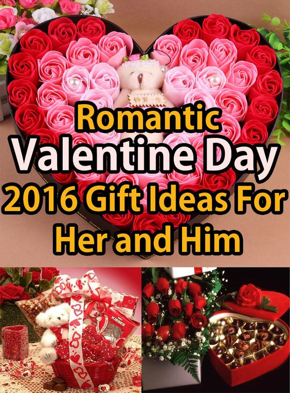 Gift Ideas For Valentines Day For Her  Romantic Valentine Day 2016 Gift Ideas For Her and Him