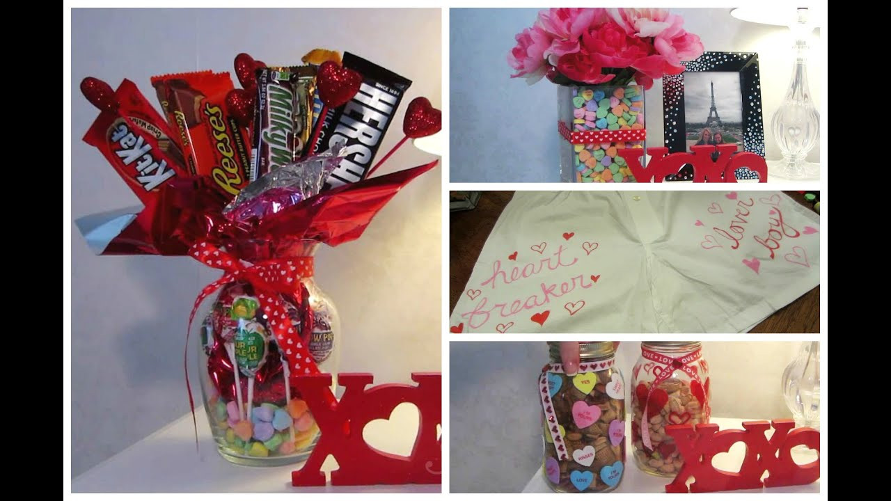 Gift Ideas For Valentines Day For Her  Cute Valentine DIY Gift Ideas
