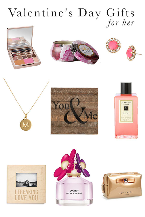 Gift Ideas For Valentines Day For Her  Valentine s Day Gift Ideas For Her Michaela Noelle Designs