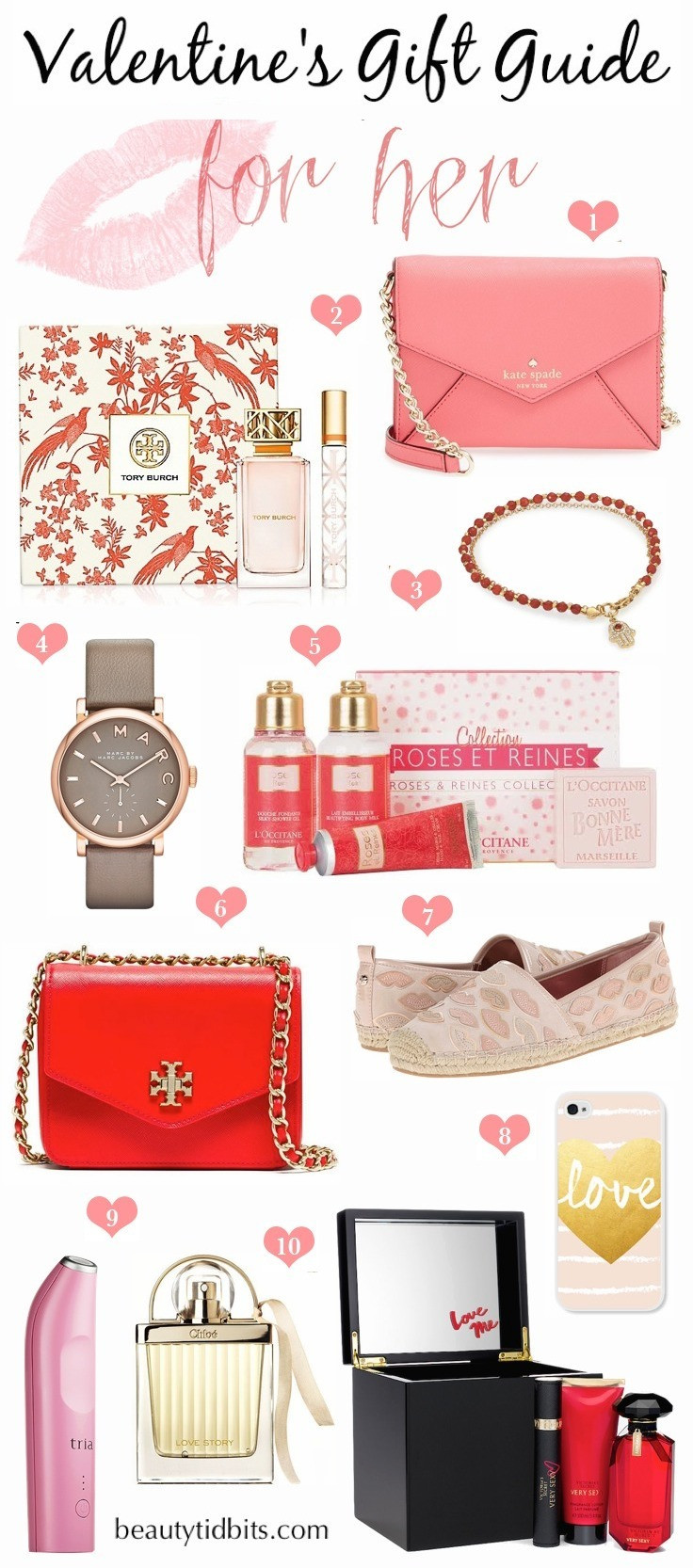 Gift Ideas For Valentines Day For Her  Valentine s Day Gift Guide For Her