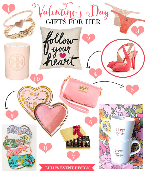 Gift Ideas For Valentines Day For Her  Valentine s Day Gift Ideas for Her • DIY Weddings Magazine