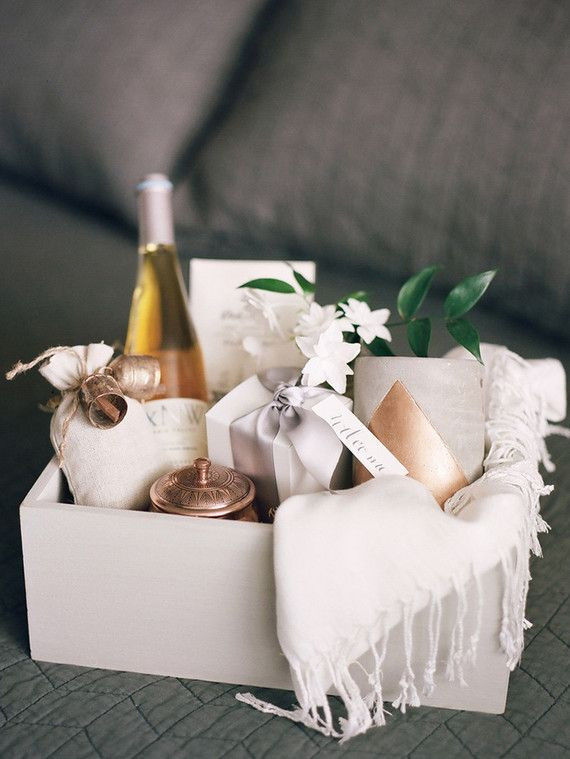 Gift Ideas For Wedding  Wedding t basket Bridesmaids Gifts