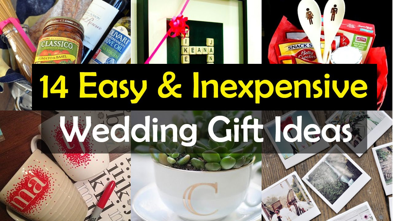 Gift Ideas For Wedding  14 Awesome Wedding Gift Ideas