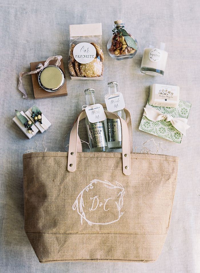 Gift Ideas For Wedding  Best 25 Personalized t bags ideas on Pinterest