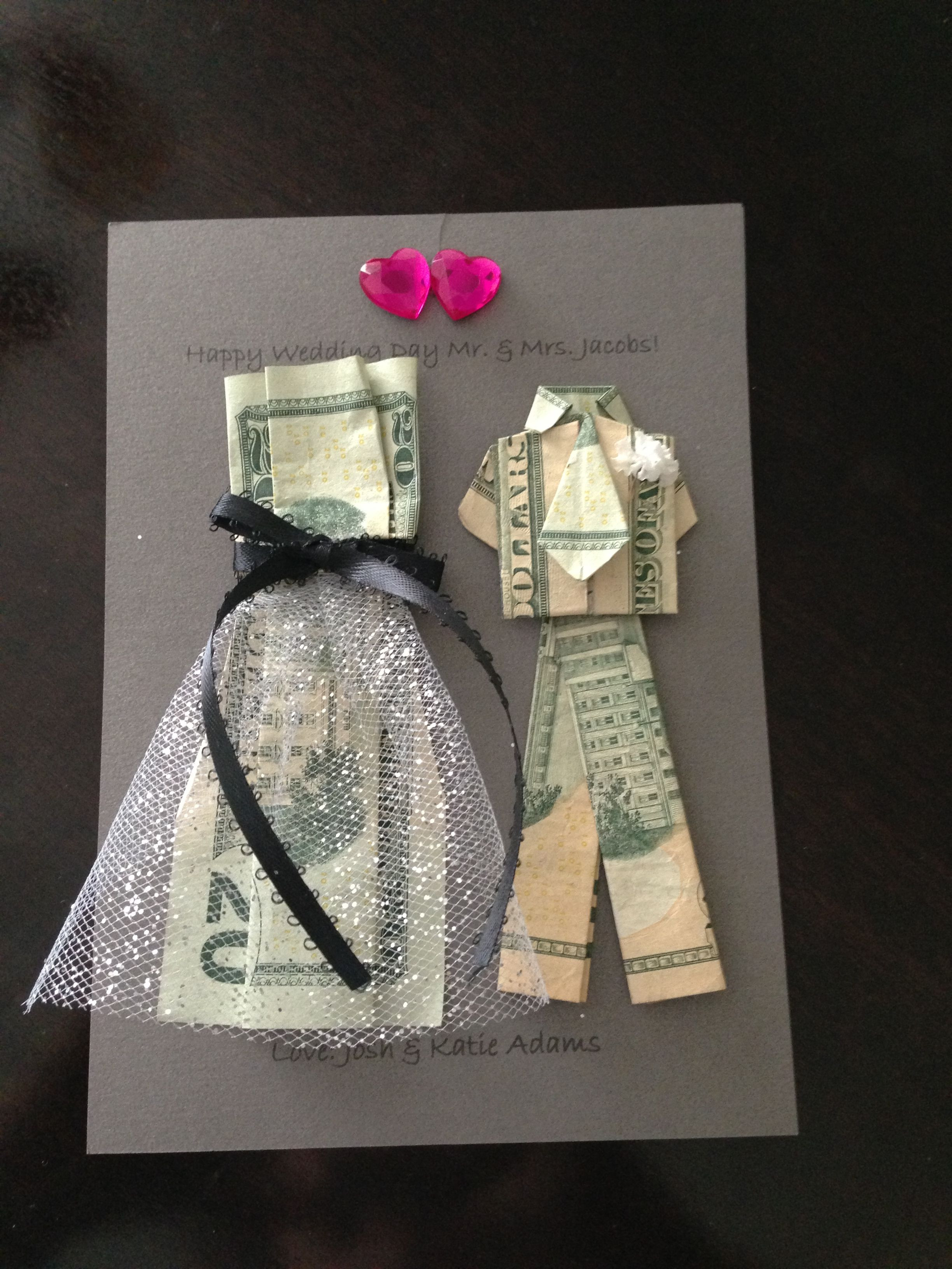 Gift Ideas For Wedding  Wedding Money Gifts on Pinterest