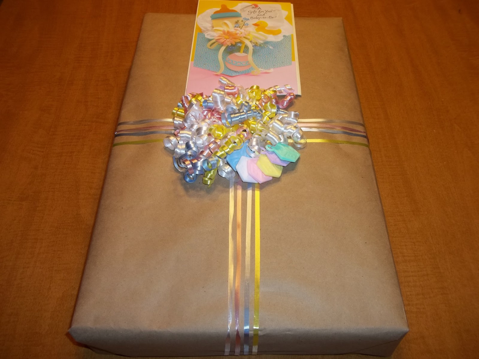 Gift Wrapping Ideas For Baby Showers  My Favorite Pieces creative baby shower t wrap
