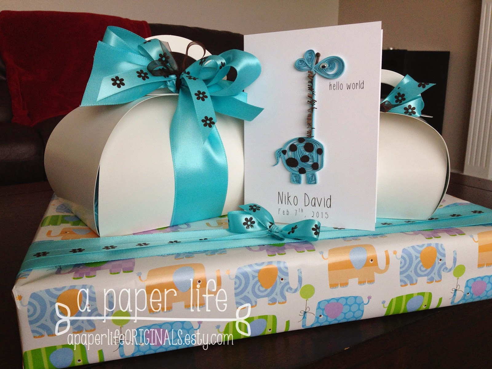 Gift Wrapping Ideas For Baby Showers  as promised here is the packaging that went along