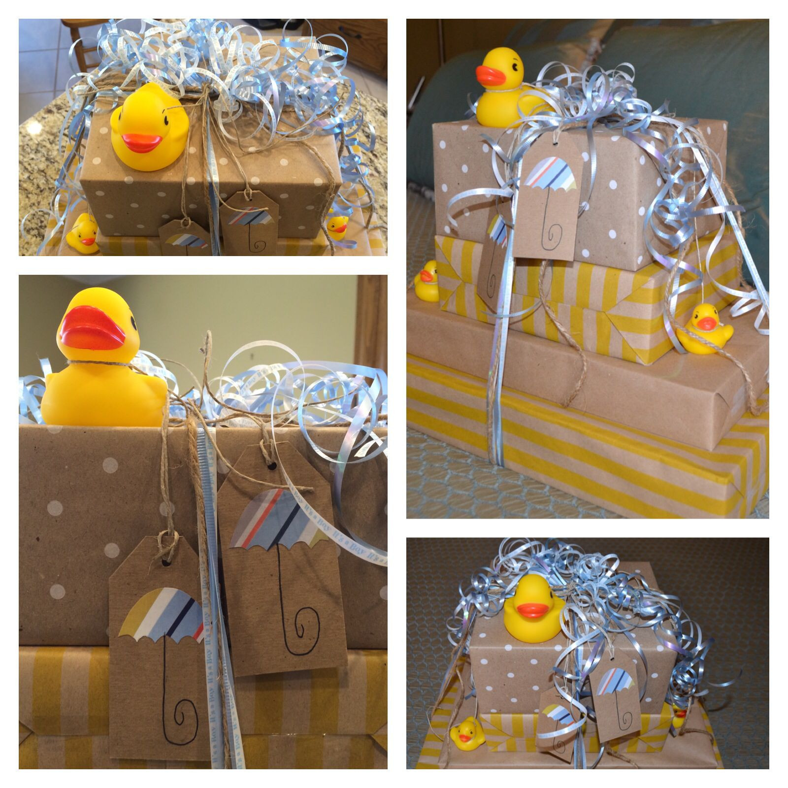 Gift Wrapping Ideas For Baby Showers  baby shower t wrap dollar tree supplies