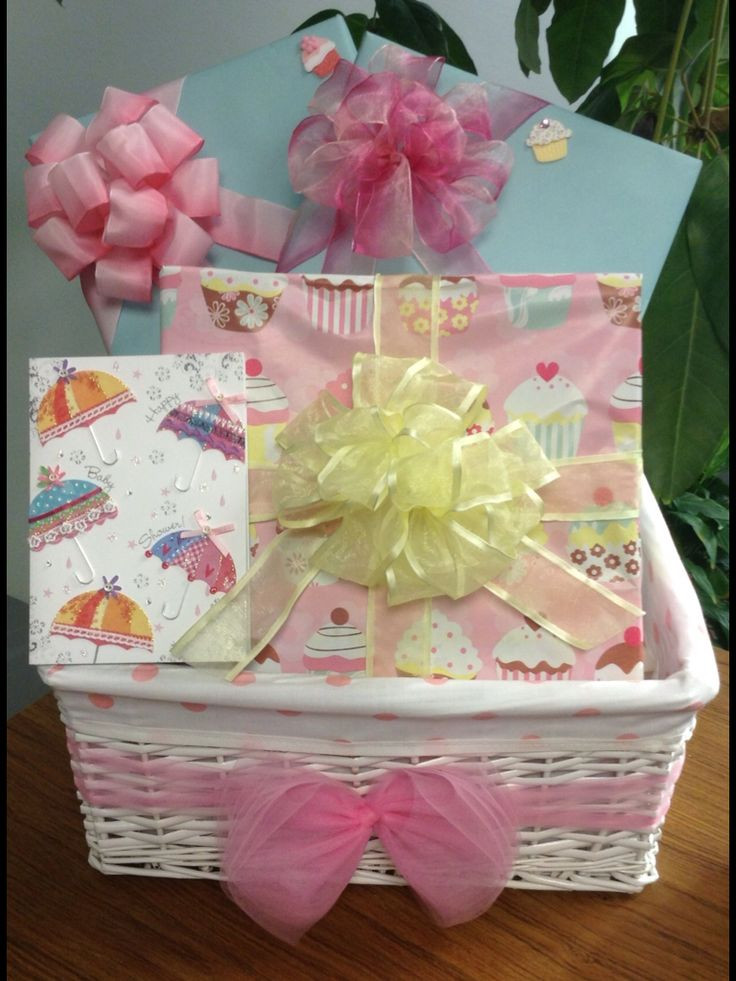 Gift Wrapping Ideas For Baby Showers  Baby shower t basket t wrapping ideas for baby