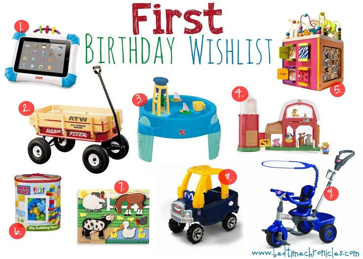 Gifts For 1St Birthday Boy  17 Best ideas about First Birthday Gifts on Pinterest