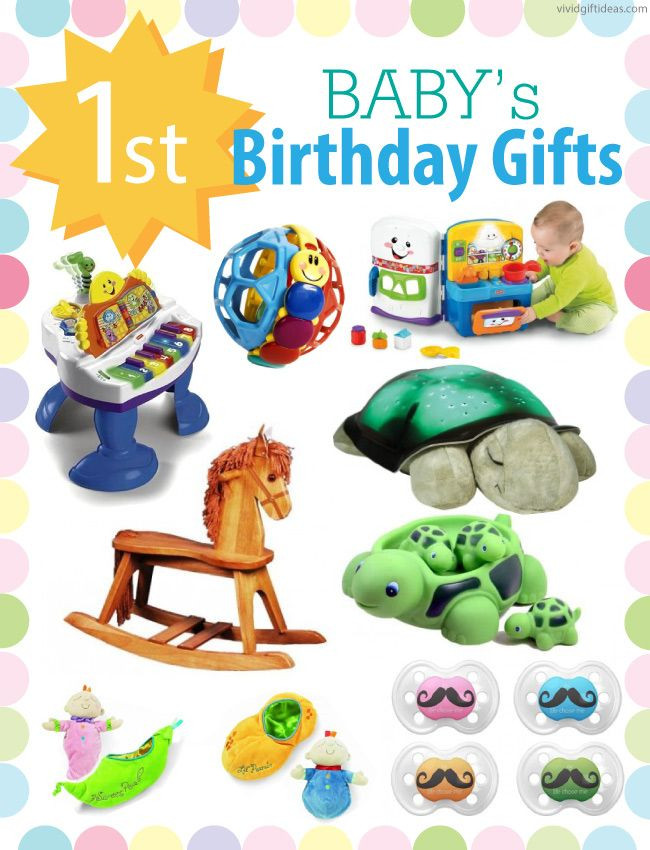 Gifts For 1St Birthday Boy  1st Birthday Gift Ideas For Boys and Girls
