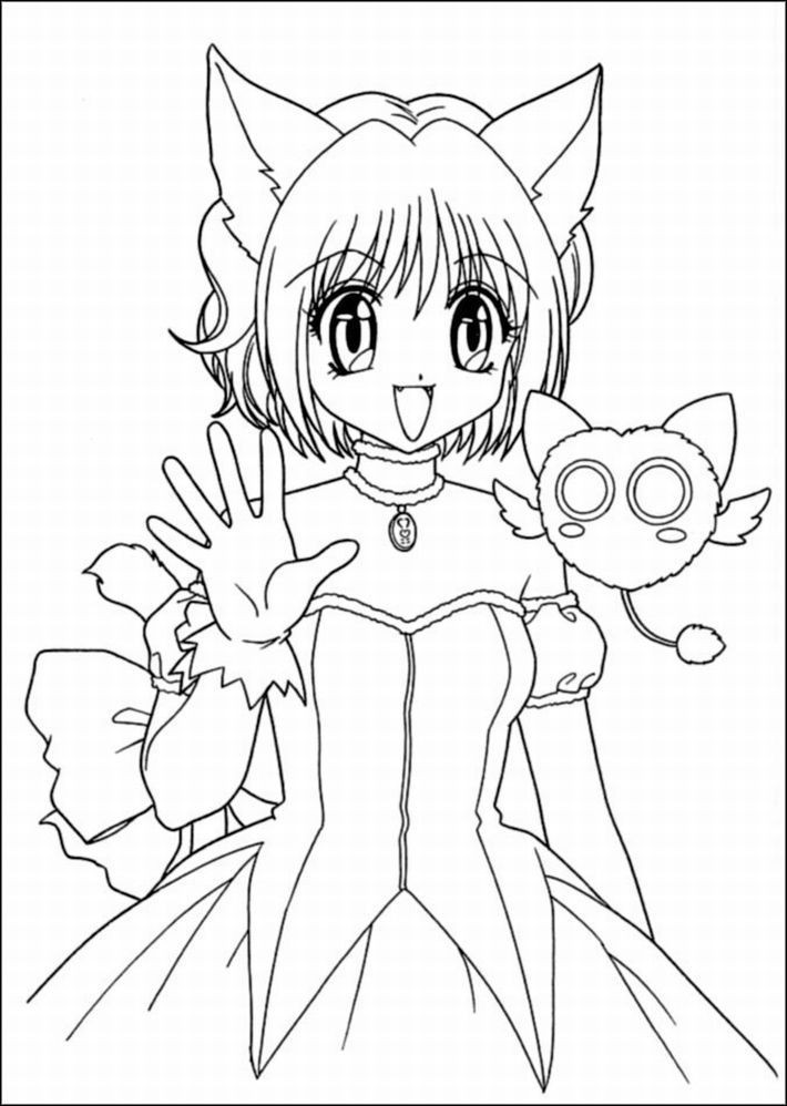 Girl Cartoon Coloring Pages  Cartoon Girl Coloring Pages Coloring Home